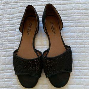 Black Lucky Brand Flats size 7